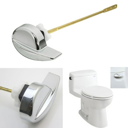 Toilet Flush Lever Handle Side Mount For Angle Fitting TOTO Kohler Toilet Tank Brass Flush Toilet Lever
