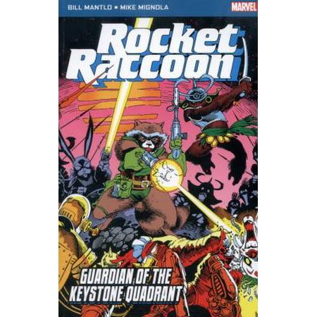 Rocket Raccoon: Guardian Of The Keystone Quadrant (Marvel Pocket Book) (Marvel Pocket Books) (Paperback)