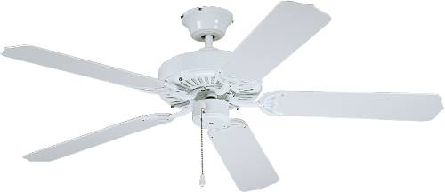 Bala Light Kit Adaptable Outdoor All Weather Ceiling Fan, 52 In., With Reversible White And White Washed Blades by BALA