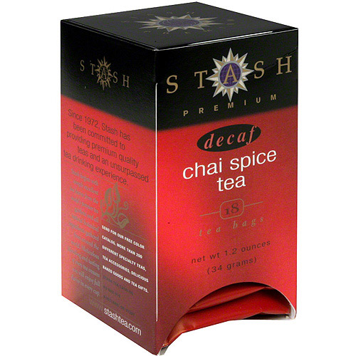 Stash Decaf Chai Spice Tea, 1.1 oz (Pack of 6)