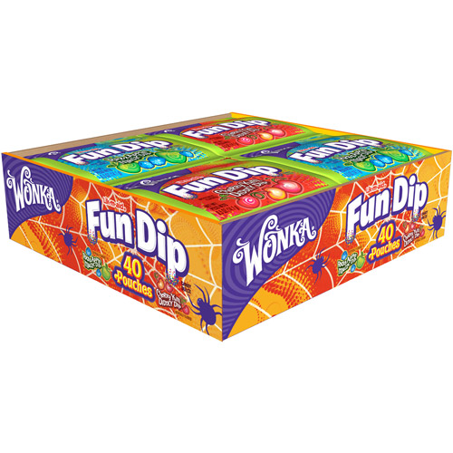 WONKA Fun Dip Candy, 40 count