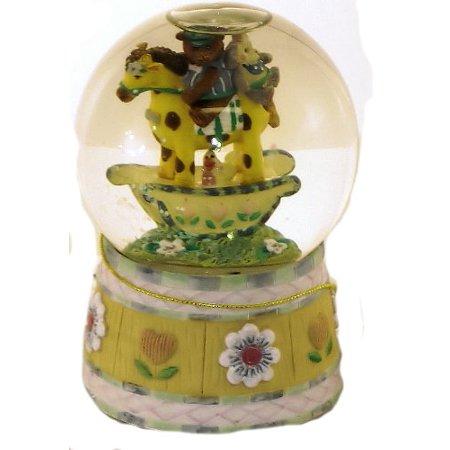 San Francisco Music Box Company - Baby Express Mini Water Globe - Plays