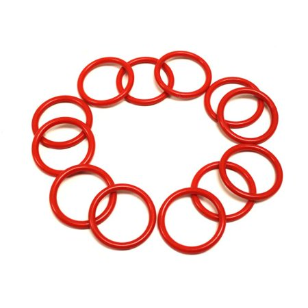 Midway Monsters 12 Pack Small Ring Toss Rings with 2.5 in Diameter (Toss Tossing Satin)