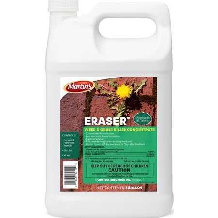 Control Solutions Inc-Eraser Weed And Grass Killer Concentrate 1 Gallon (Case of 4