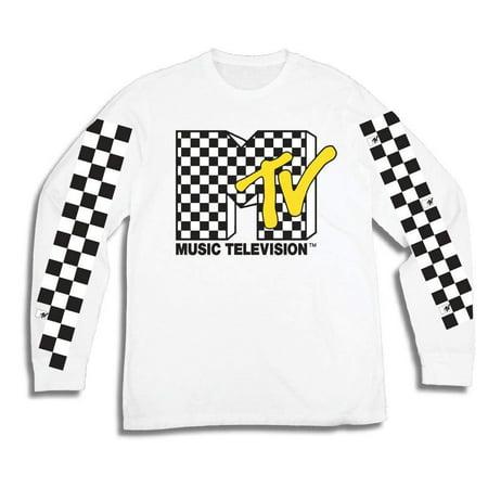 267d60cffa Mtv - MTV Mens Long Sleeve Shirt -  TBT Mens 1980 s Clothing - I Want My  T-Shirt - Walmart.com