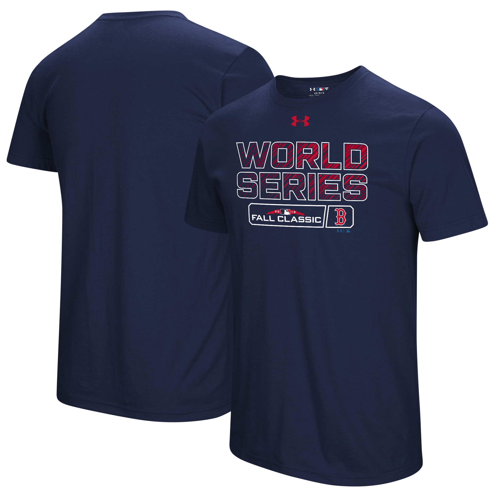 Boston Red Sox Under Armour 2018 World Series Bound Tri-Blend T-Shirt - Navy