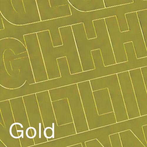 """Permanent Adhesive Vinyl Letters and Numbers, 2"""" 167pk, Gold"""