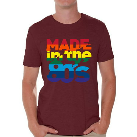 Pride Parade Outfits (Awkward Styles Made in the 80s Shirt Rainbow 80s T shirt Rainbow Shirt 80s Birthday Shirt Gay Pride Shirt 80s Rock T Shirt 80s T Shirt 80s Costume 80s Clothes)