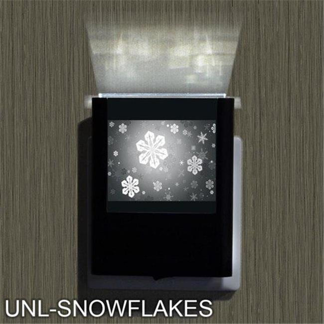 Uniqia UNLG0087 Night Light - Snow Flake Laser