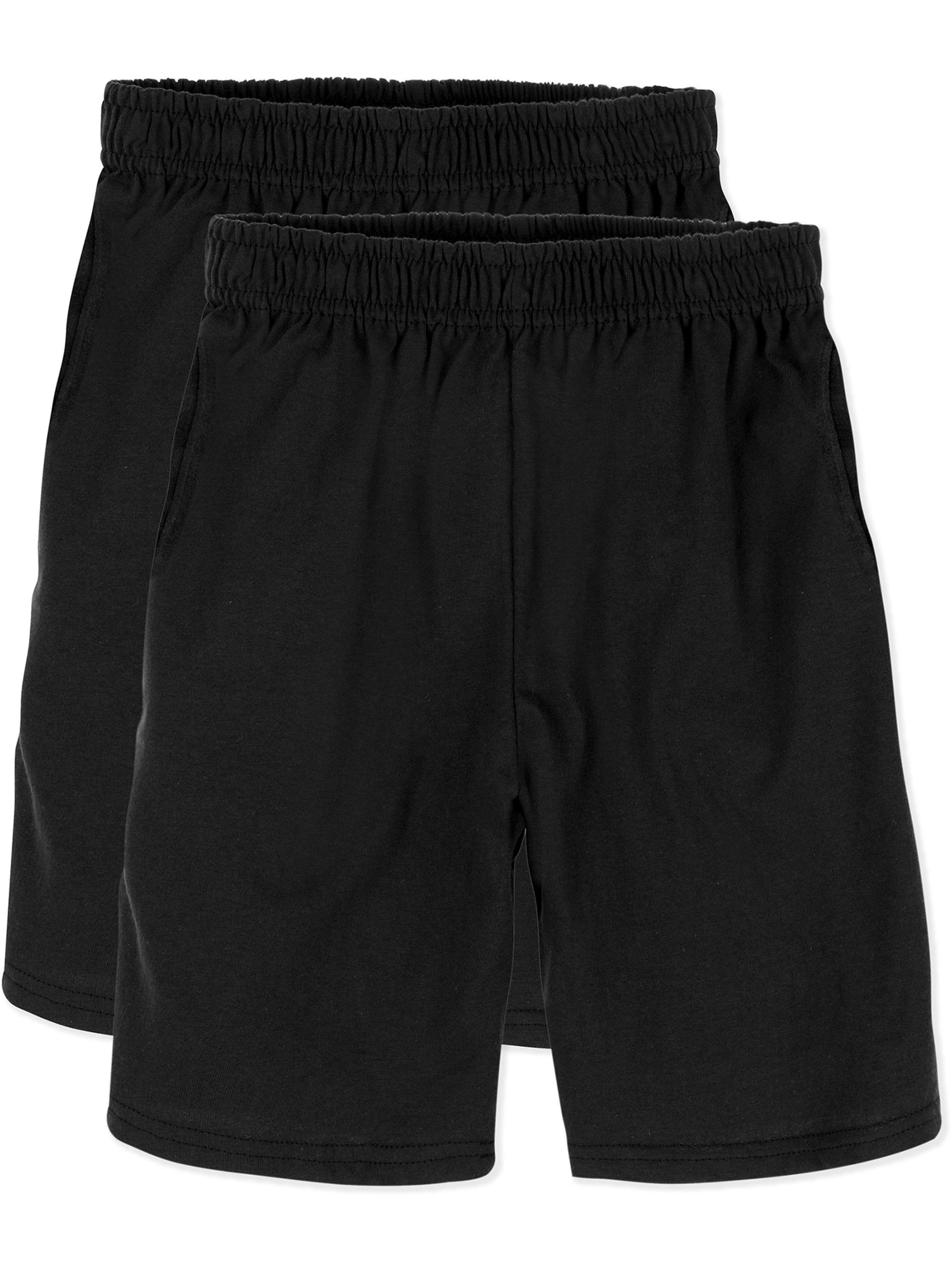 ComfortSoft Jersey Pocket Short, 2-Pack Set (Little Boys & Big Boys)