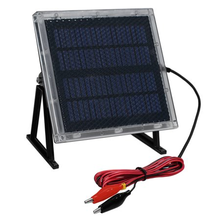 12-Volt Solar Panel Charger for 12V 8Ah Big Game Feeder Battery thumbnail