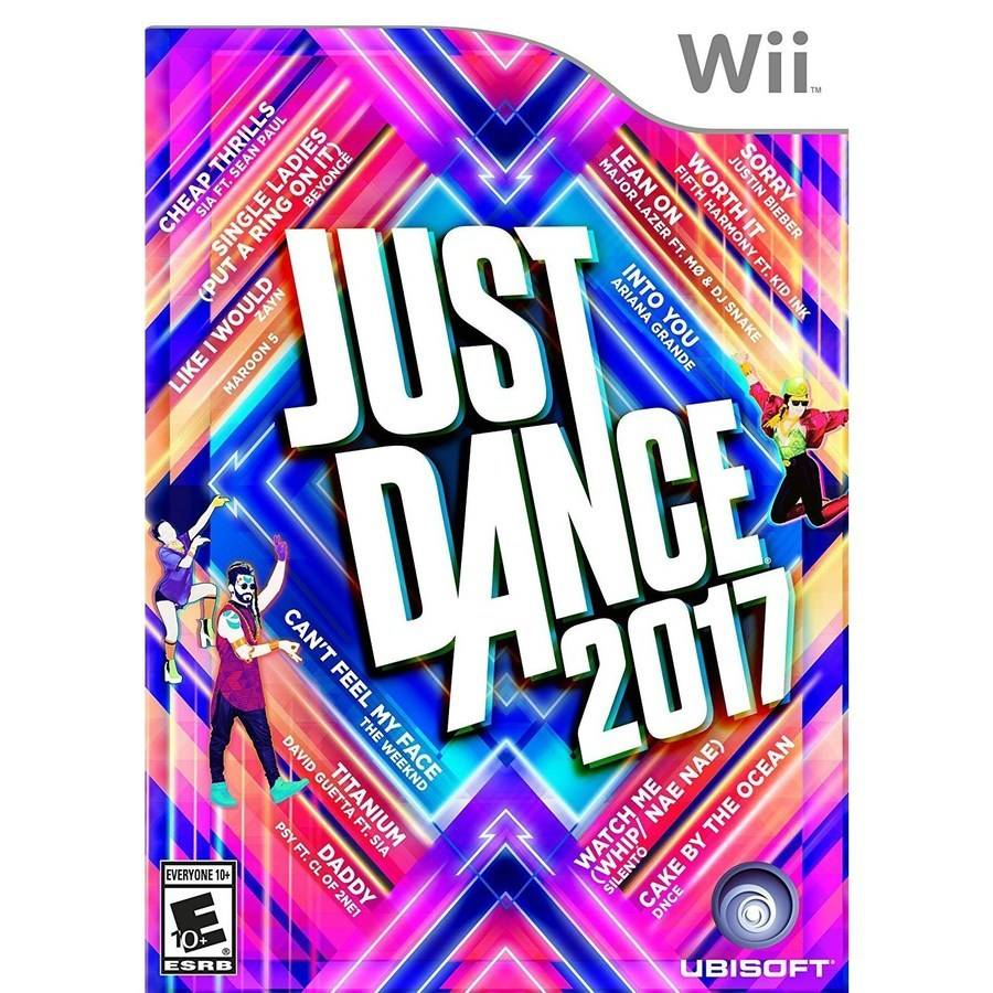 Just Dance 2017, Ubisoft, Nintendo Wii, 887256023034