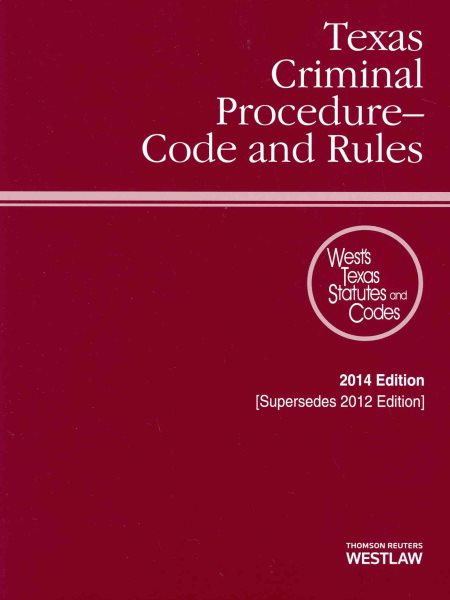 rules of criminal procedure and texas