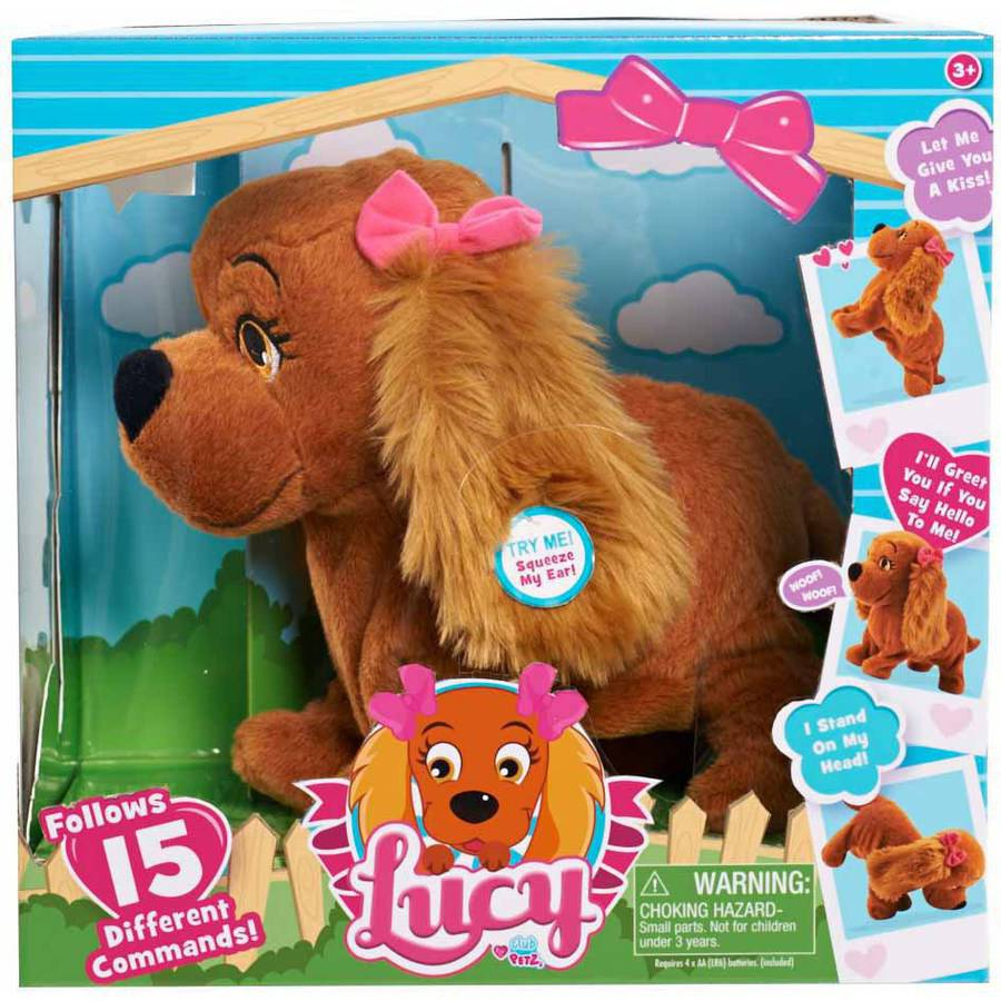 Club Petz Lucy Animated Plush Dog