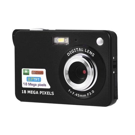 - WALFRONT Ultra Slim Mini 5MP DV Camcorder 720P HD Digital Camera Video Recorder US Plug, Camcorder, Video Recorder