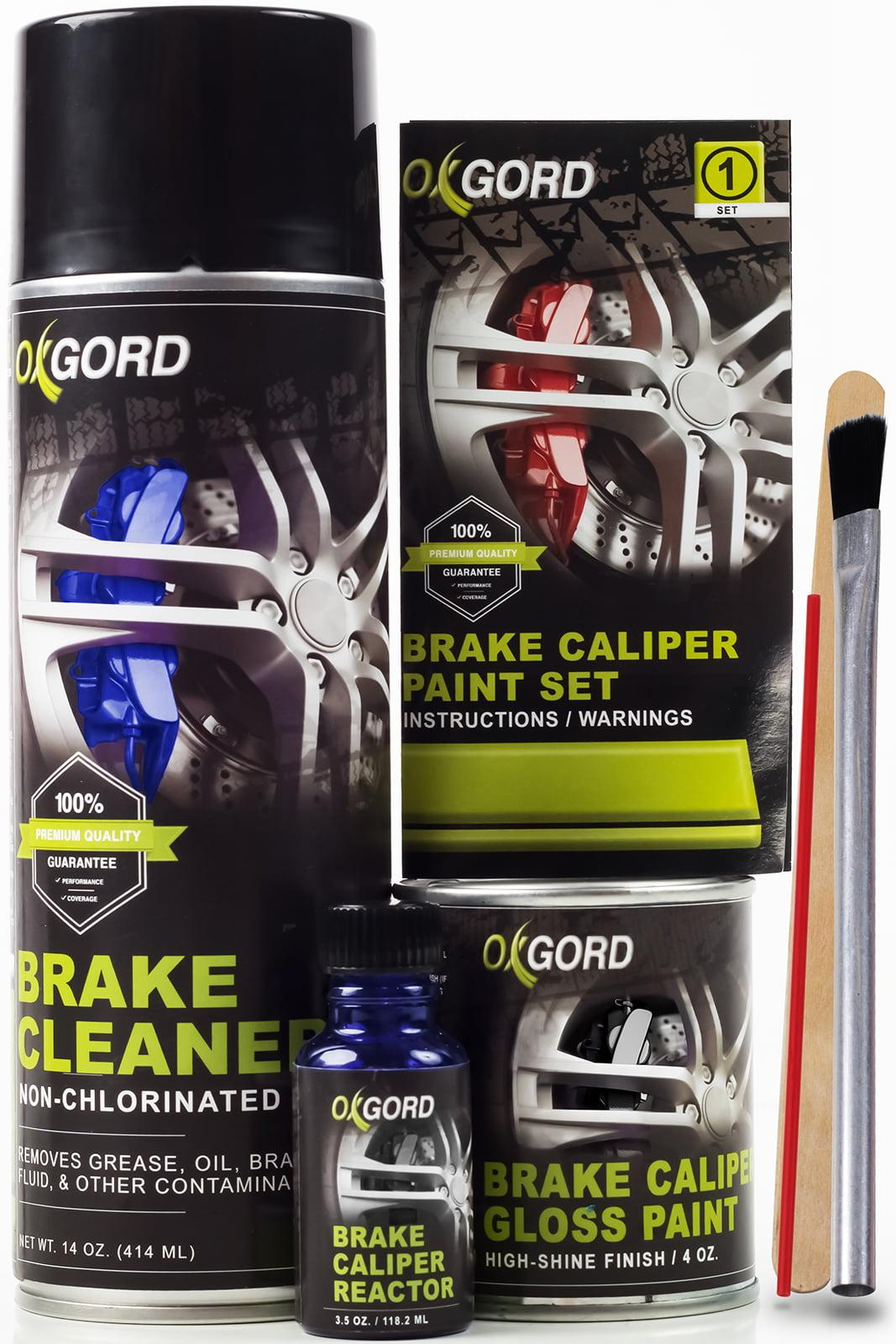 Black Paint For Brake Calipers Rotors Engine High Heat 2 Part Epoxy Brush On Kit By Oxgord Walmart Com Walmart Com