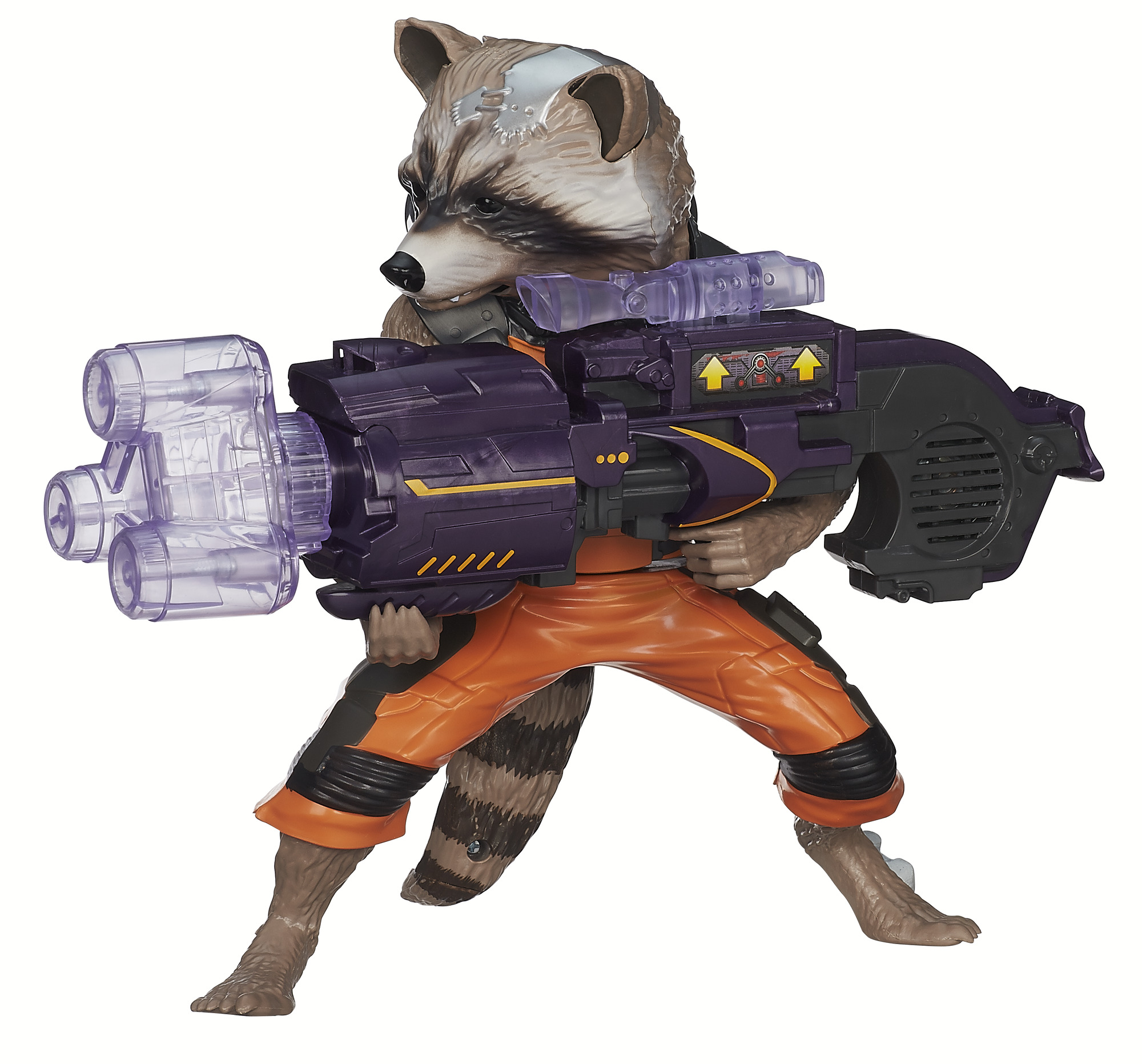 Marvel Guardians Of The Galaxy Big Blastin' Rocket Raccoon Action Figure