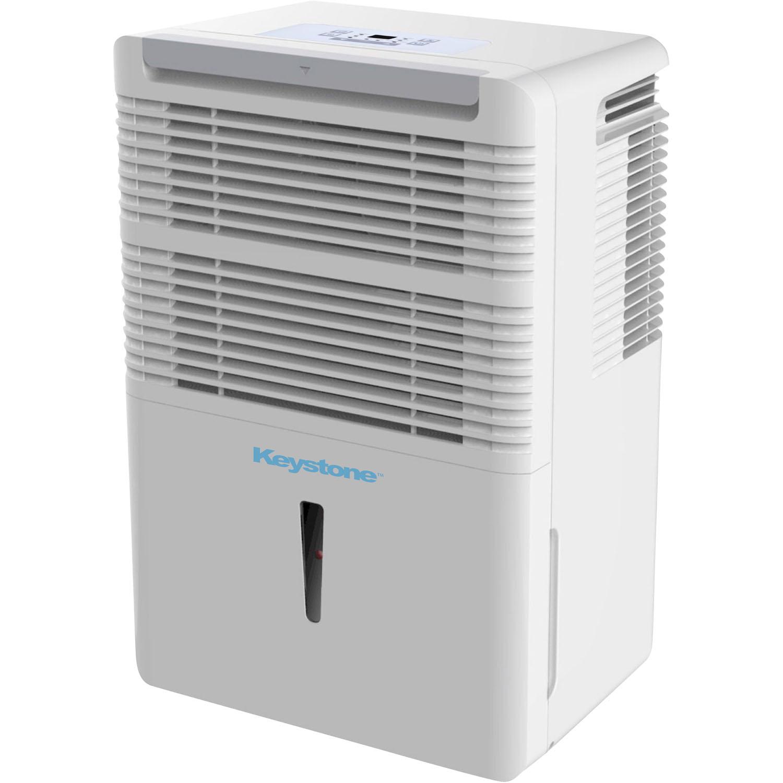 Keystone KSTAD50B Energy Star 50-Pint 2-Speed Dehumidifier