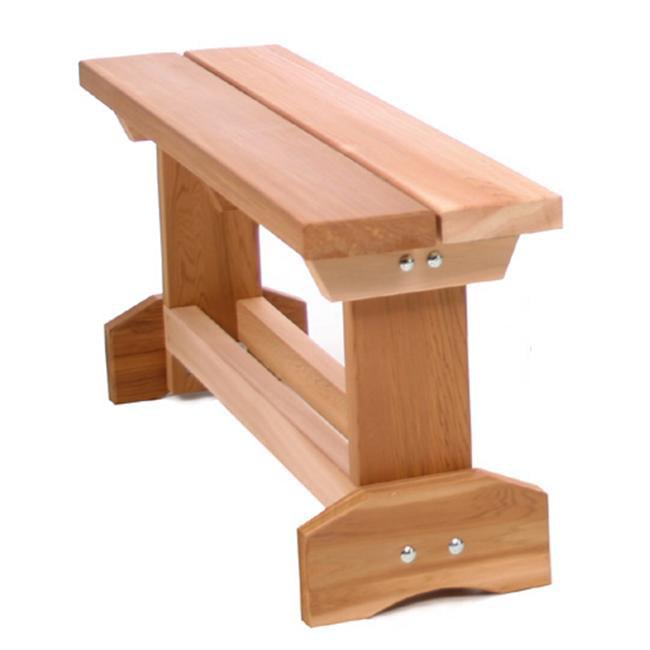 All Things Cedar MB30U 3 Foot Market Bench