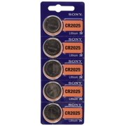 Sony CR2025 3 Volt Lithium Coin Watch Batteries (12 Batteries)