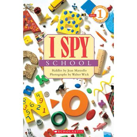 I Spy School - Halloween I Spy Printables