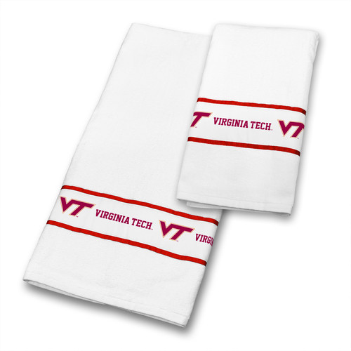 Sports Coverage Inc. Virginia Tech 2 Piece Towel Set
