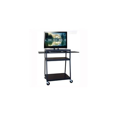 Hamilton Buhl Wide Body Flat Panel AV Cart