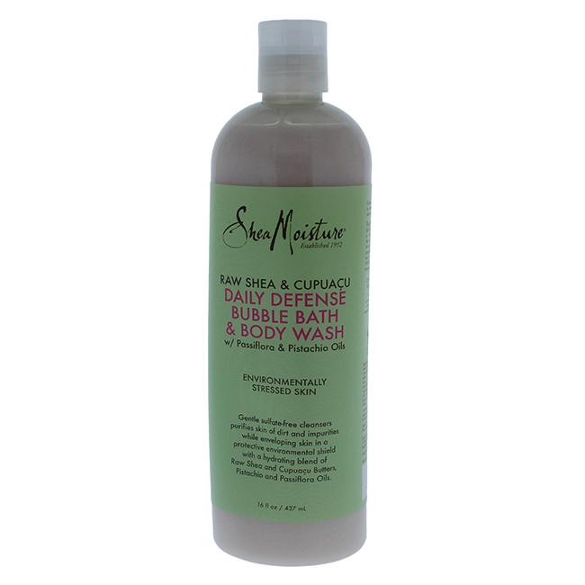 Raw Shea & Cupuacu Daily Defense Body Wash by Shea Moisture for Unisex - 16 oz Body Wash - image 1 de 1
