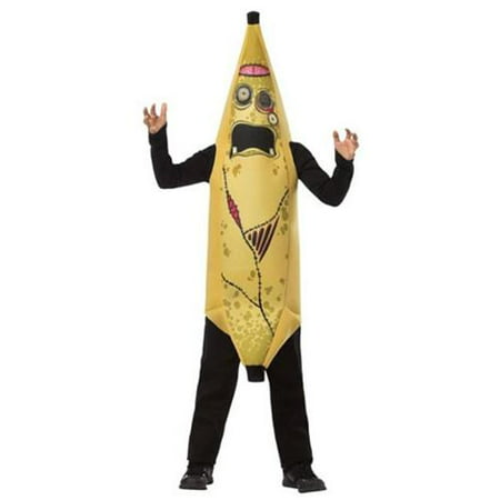Zombie Banana Child Halloween Costume, One Size, (7-10) - Football Zombie Halloween Costume