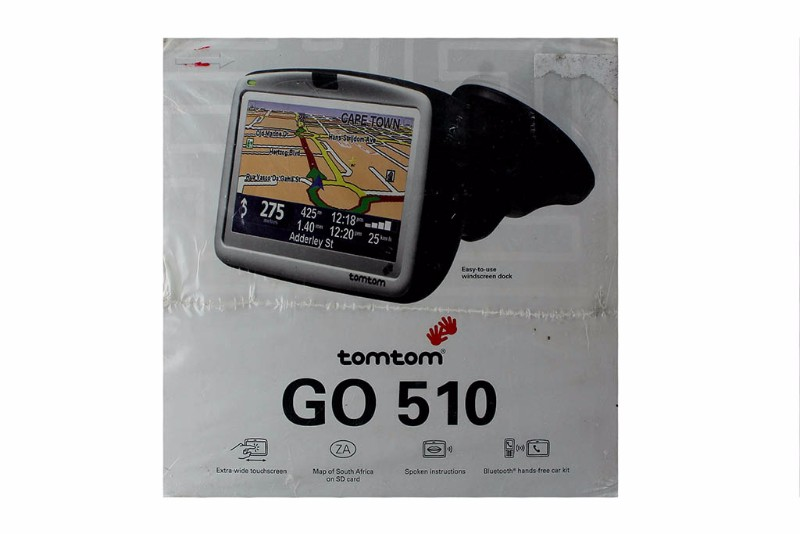 TomTom Go 510 GPS Satellite Navigation System 5 inch Display WORLD MAPS by TomTom