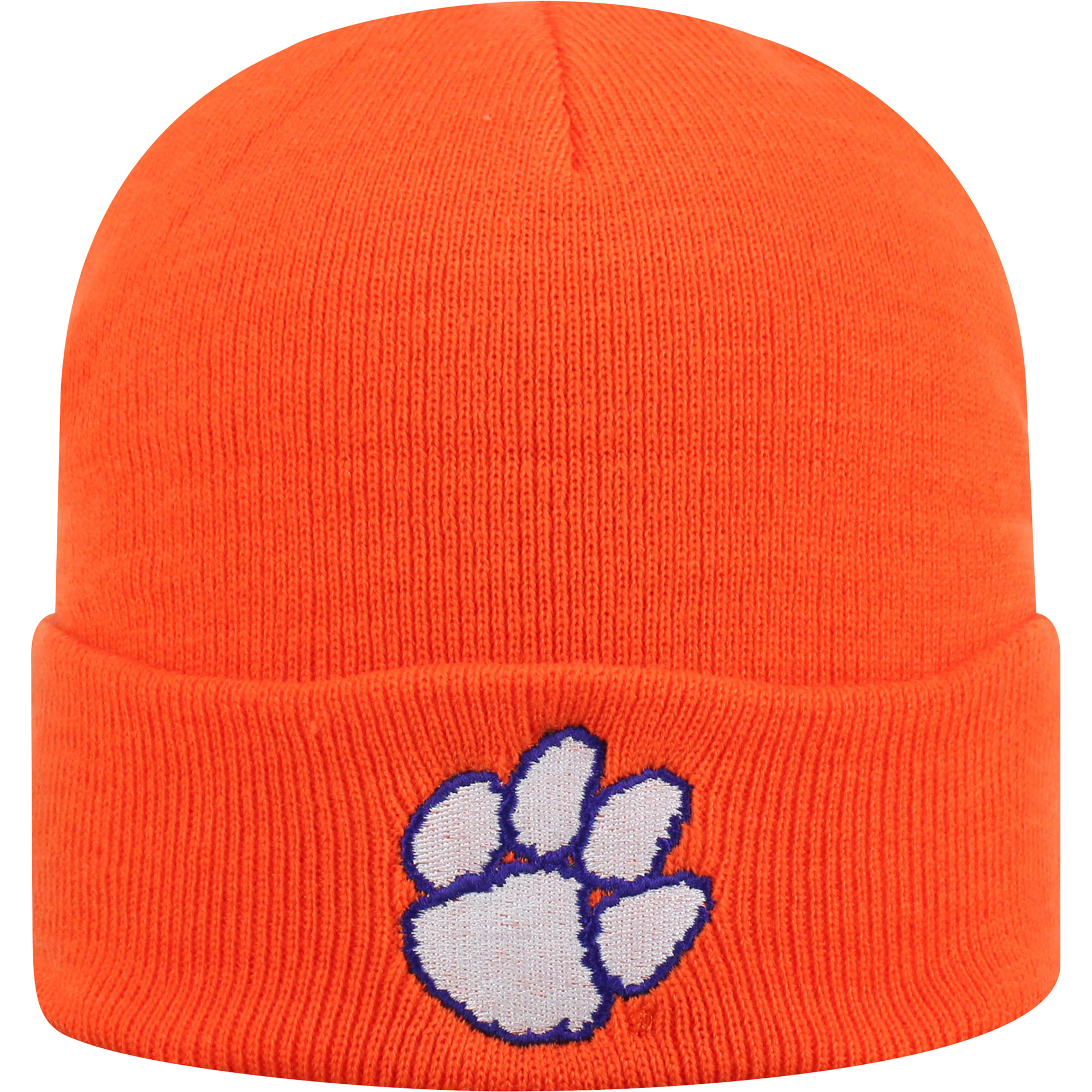 7fb7b9bc2896f0 ... pom osfa 834de bae62 uk mens russell orange clemson tigers team cuffed  knit hat osfa 5c973 d9de4 ...