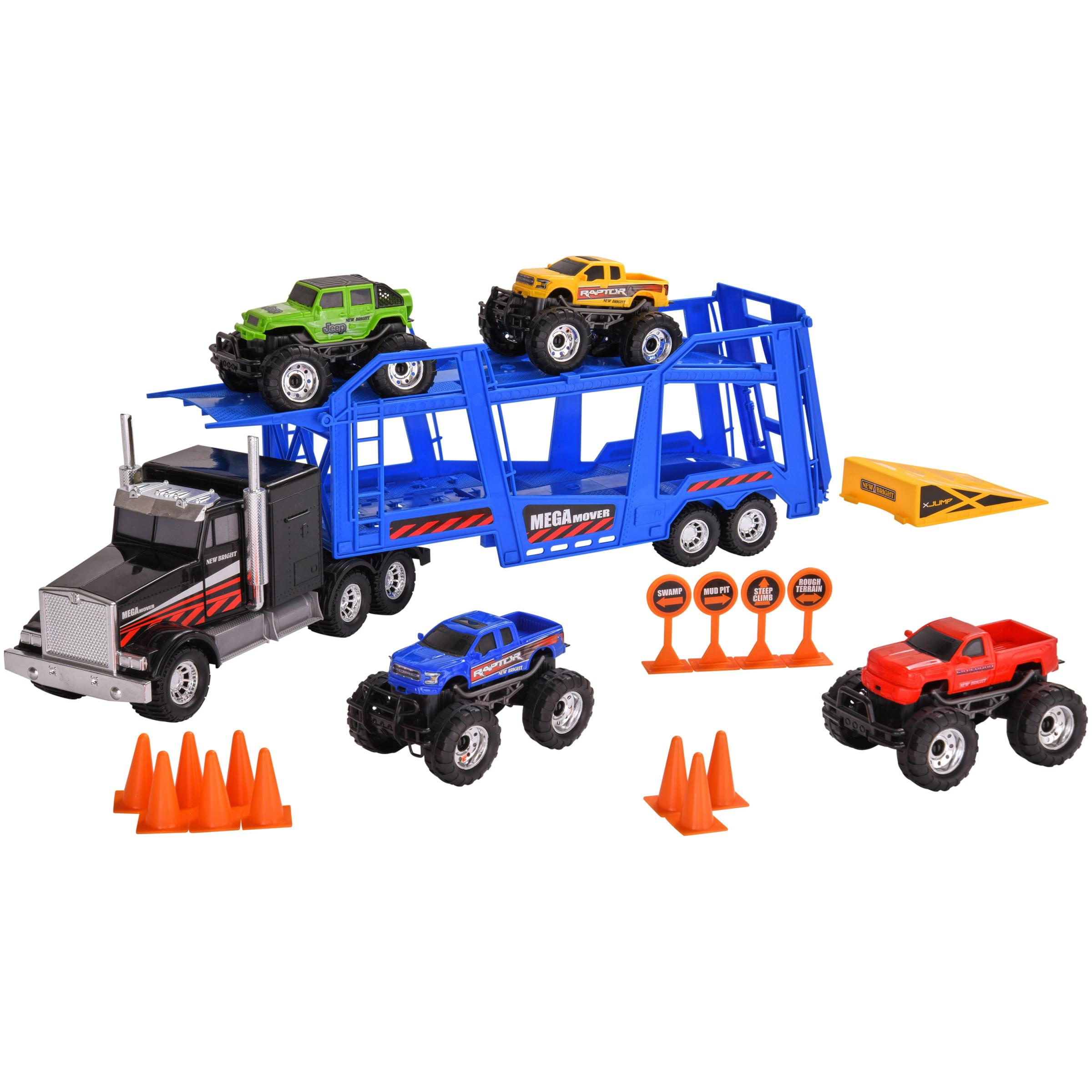 Adventure Force Vehicle Transporter, Black, 20 Pieces