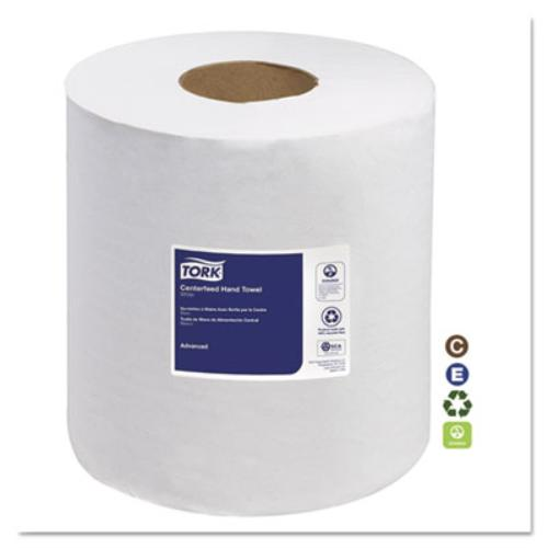 """Sca Tissue SCA120133 Advanced Centerfeed Hand Towel, 1-ply, 8 1/4""""w X 11 4/5""""l, 983ft, White, 6/ctn"""
