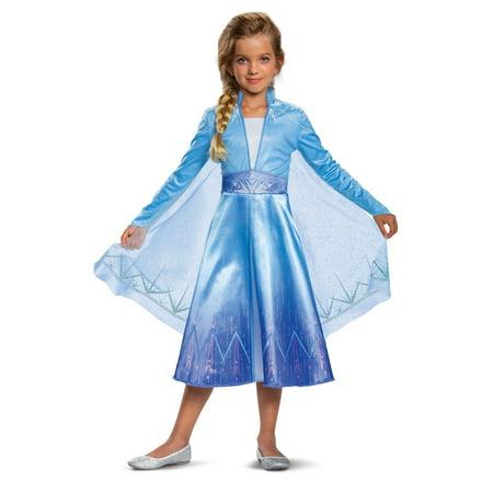 Hatsune Miku Costume For Kids (Frozen 2: Elsa Deluxe Child)