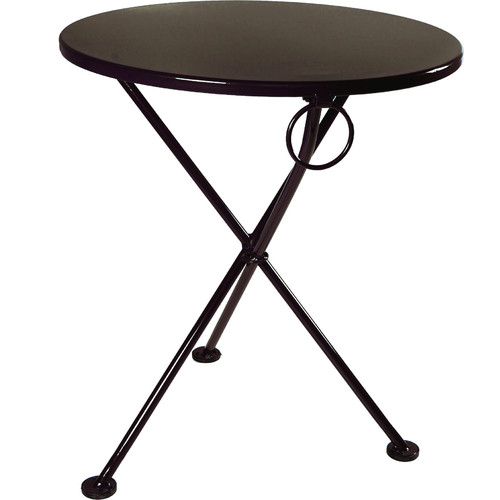 Furniture Designhouse European Caf  Folding  Metal Bistro Table