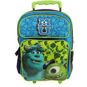 """Monster University 16"""" Rolling Backpack"""