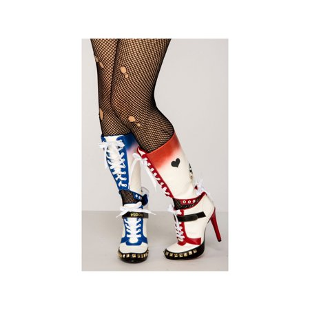 Halloween Women's Harley Quinn Suicide Squad Boot - Harley Quinn Booty