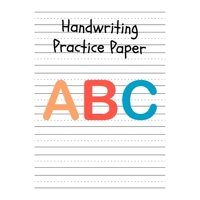 Handwriting Practice Paper: Perfect Writing Paper With Dotted Line For Kids. (Paperback)