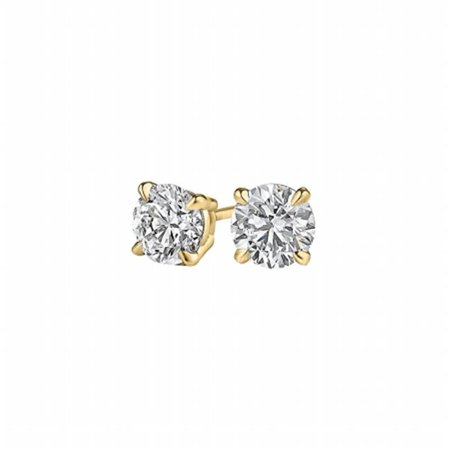 Fine Jewelry Vault Uberp010ardy14d Conflict Free Diamond Stud Earrings 14k Yellow Gold 44
