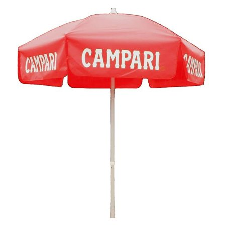 6ft Red Campari Market Tilt Umbrella Home Sun Canopy Shelter - Patio