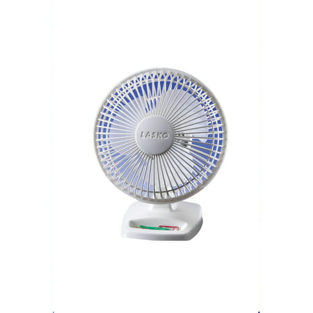 "Lasko 6"" Personal Fan in White"