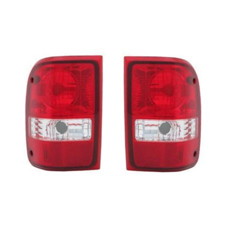 NEW PAIR OF TAIL LIGHTS FIT FORD RANGER LIMITED 2010 6L5Z-13405-AA FO2819111 (2010 Ford Ranger)