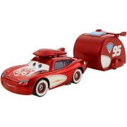 Disney Pixar Cars Road Trip Cruisin' Lightning McQueen & Trailer by Mattel