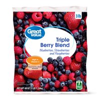 Great Value Triple Frozen Berry Mix, 48 oz