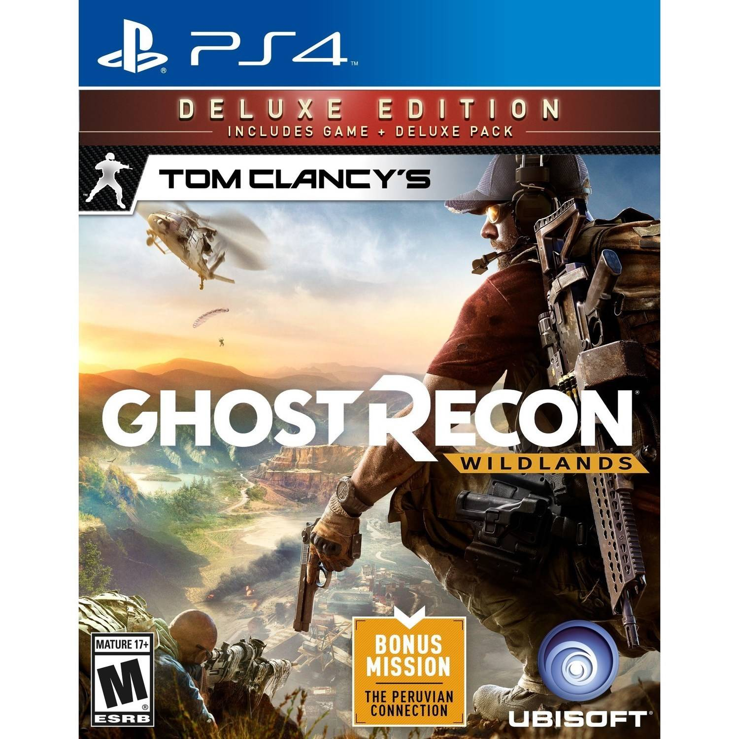 Tom Clancy's Ghost Recon Wildlands Deluxe Edition (Playstation 4) by Ubisoft