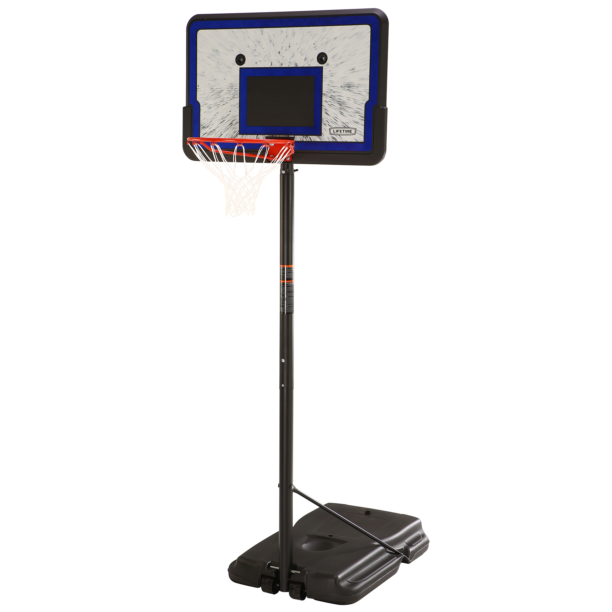 "Lifetime 44"" Portable Adjustable Height Basketball Hoop System, 1221 by Lifetime Products"