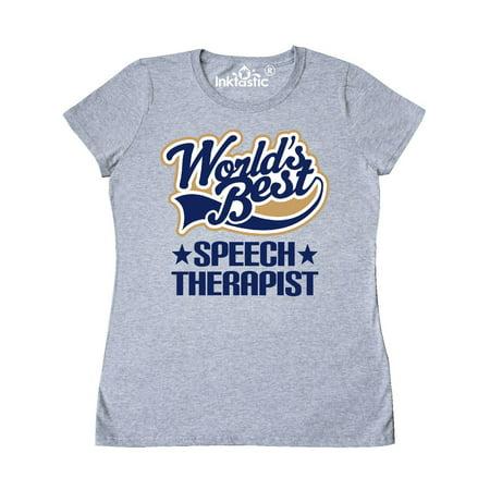 Worlds Best Speech Therapist Women's T-Shirt