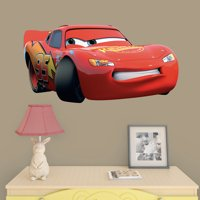 Fathead Lightning McQueen: Cars 3 - X-Large Officially Licensed Disney/PIXAR Removable Wall Decal