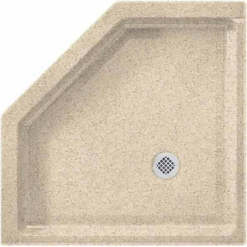 "Swan SS-36NEO-010 36"" x 36"" Swanstone Shower Base (Drain Included), Available in Various Colors"