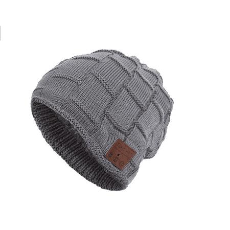 78f460ae4e6 Unisex Bluetooth 4.2 Beanie Knit Hat